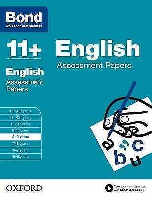 Bond 11+ Eleven Plus English Comperhension Assessment Papers entry exam