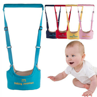 1Pc baby walker harness assistant toddler leash for kid learning walking safe *t