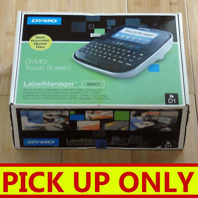 DYMO LabelManager Touch Screen Label Maker 500TS D1 PC or Mac [PICKUP ONLY vic]
