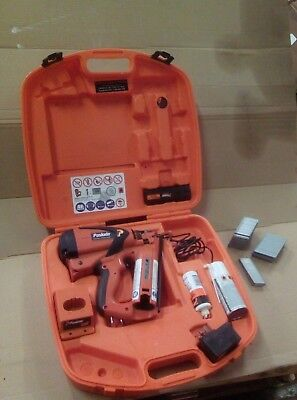 Paslode IM65A F16 Angled Finishing Brad Nailer with small assortment of nails