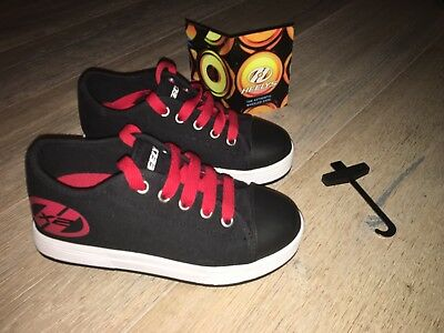 heelys size 13 Black And Red New