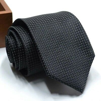 Men's High Quality Polyester Tie For Wedding Party Casual Bus Bussiness 8C