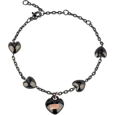 Bracciale Donna Ip Gun Nero Elemento Rose Kilos Of Love Breil - TJ2728