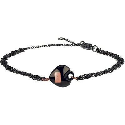 Bracciale Donna Ip Gun Nero Elemento Rose Kilos Of Love Breil - TJ2730