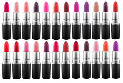 MAC Lipstick- Angel, Chili, Cyber, Honeylove, Please me, Ruby woo - NEW / BOXED