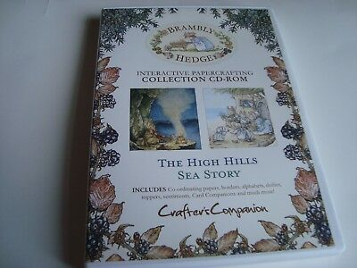 Crafters Companion ~ Brambly Hedge ~ High Hills / Sea Story ~ Cd~Rom