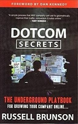 Russell Brunson DotCom Secrets  [190 Pages] PDF