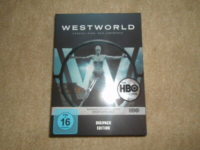 Westworld - Die komplette 1. Staffel  [3 DVDs] (2017)   NEU  -   TOP    SERIE  !