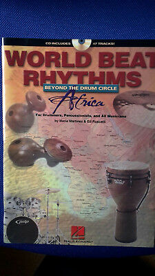 World Beat Rhythms Africa for Drummers, Percussionists and All Musicians mit CD