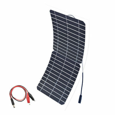 12v 10w Flexible Solar Panel Mono for DIY Toy Boat Light Camping Solar Charging
