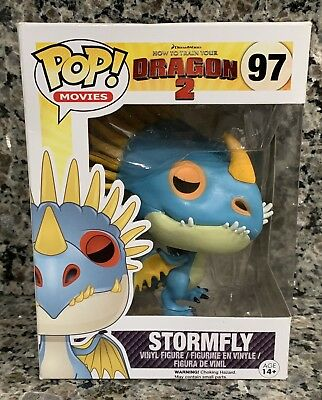 "New Funko Pop! Movies #97 How To Train Your Dragon 2 ""Stormfly"" Figure Not Mint"