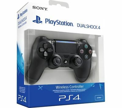 SONY PS4 DualShock 4 Controller Black V2 BRAND NEW SEALED OFFICIAL
