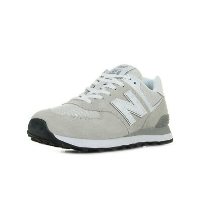taille 40 03b4e 2f6f3 CHAUSSURES BASKETS NEW Balance femme ML574 EGW taille Blanc Blanche Cuir  Lacets