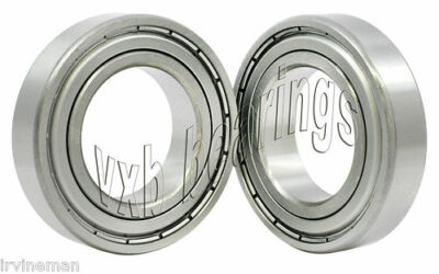 Set of 2 (pair) Sealed Ball Bearings 20009 Bearing