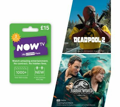 NOW TV Sky Movies Pass - 2 Month - Currys