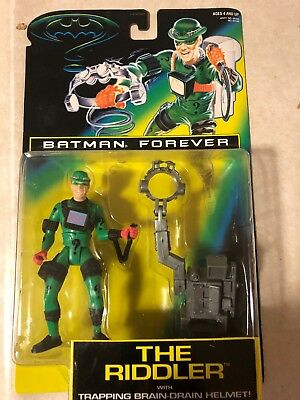 Batman Forever The Riddler DC comics Kenner 1995 Figure