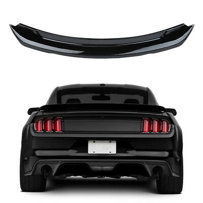 Gloss Black GT350 Style Rear Spoiler & Wings for Ford Mustang 2015-2017 All