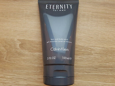 Calvin Klein Eternity Homme Men Hair and Body Wash, Shower Gel, Soap, 150 ml