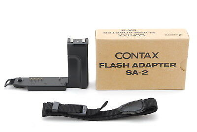[Top MINT+++ in Box] Contax T3 Flash Adapter SA-2 Black for T3 From JAPAN #911