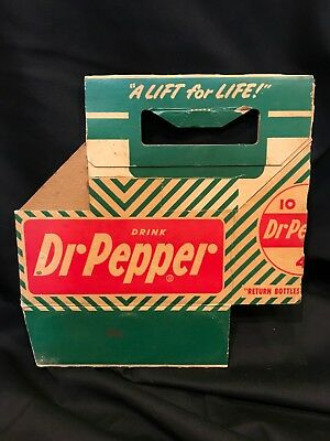 Dr Pepper six pack carrier