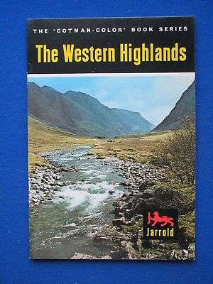 The Western Highlands  in Colour   Cotman-Color Book   1966