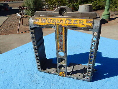 1940 Wurlitzer wallbox 100 Cover only with Coin Entry Casting