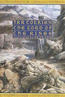 Lord of the Rings: Deluxe Illustrated Ed by J. R. R. Tolkien 9780395595114