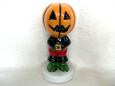Lorna Bailey Cat Halloween Pumpkin Head Signed Underneath Collectors investment