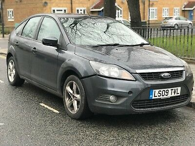 Ford Focus, 2009 (09 Plate), 1.6 Petrol (100 Bhp), For Spares Or Repairs
