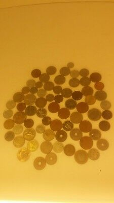 70 world coin collection lot Rare Vintage Old Money
