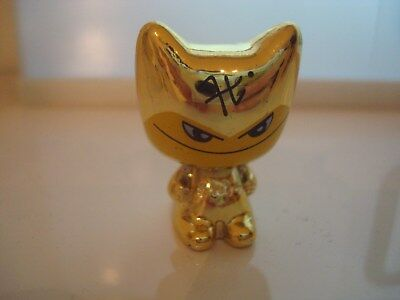 GOGO'S crazy bones figurine édition GOLD / OR