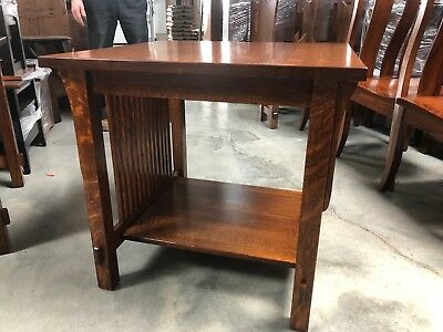 Custom Built | NEW | Mission Arts and Crafts | Stickley Style | End Table