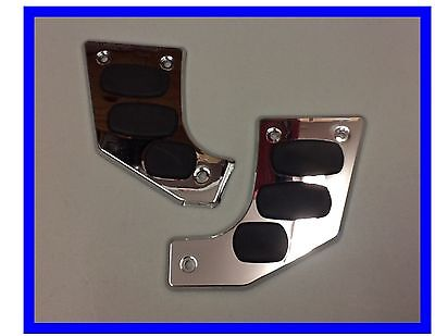 Swing Arm Scuff Plate Chrome and Rubber For Honda GL 1800 Show Chrome B3-3