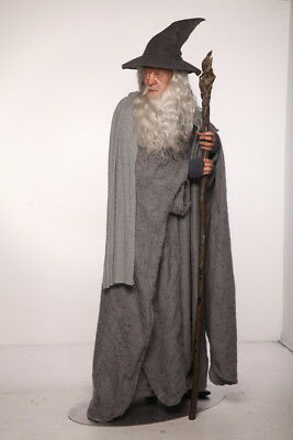 GANDALF Lord of the Rings Hyper Real SILICONE rare LIFESIZE STATUE collectable