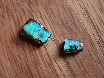 "TOP! * 6,25ct * 1 Free Form Natural Boulder Opal, Australia * ""Stone is broken"""