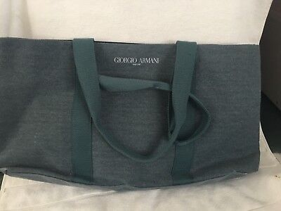 369703002ec GIORGIO ARMANI PARFUMS Weekender Carry on tote shopper beach bag ...