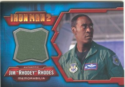 Iron Man 2 Costume Card IMC-10 Jim Rhodes
