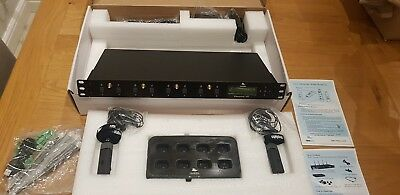 REVOLABS Executive HD 8-Channel Wireless Microphone System Receiver & Charger