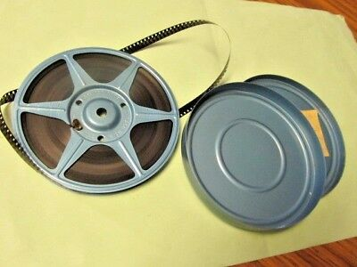 Vintage ~ 8 MM Home Movie with Metal Reel & Case ~ From 1960s