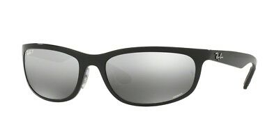 Ray-Ban Rectangle Polarized Silver Mirror Chromance Sunglasses Rb4265 601 5j  62 7a724b835590