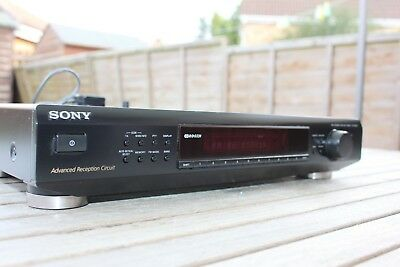 Sony ST-SE520 AM/FM High Quality RDS Stereo Tuner