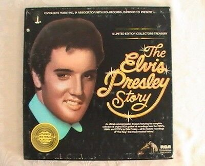 The Elvis Presley Story Limited Edition Collectors Treasury 5 Record Box Set RCA