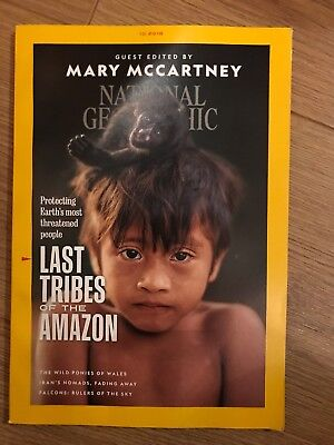 NATIONAL GEOGRAPHIC - October 2018 - LAST TRIBES OF THE AMAZON- Mary McCartney