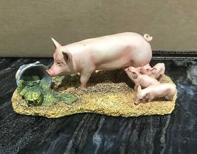 Border fine Arts Free Lunch Pigs JH79A