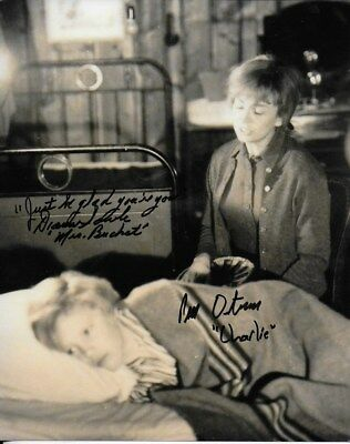 WILLY WONKA & CHOCOLATE FACTORY double signed 12x8 PETER OSTRUM & DIANA SOWLE