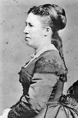 New 4x6 Photo: First Lady Julia Dent Grant, Wife of President Ulysses S. Grant