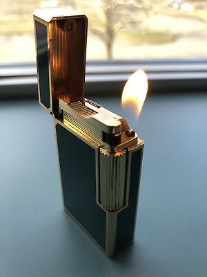 S.T. Dupont Ligne 1 Large Lighter With Box And Paperwork