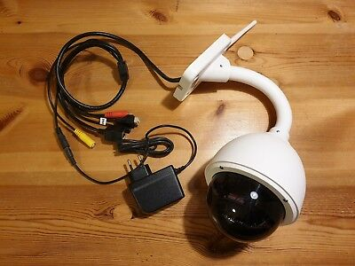 »» Foscam FI9828P V2 • Speed Dome HD IP Aussen-Kamera • 1,3 Megapixel 3x Zoom ««