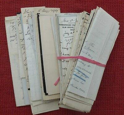 1902, Pile Of Letters, Hawick, Roxburgh, Scotland Borders, & Southsea, Hants