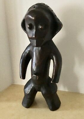 Vintage - African - Hand Carved Voodoo ,tribal, Fetish, Figurine - Free Shipping